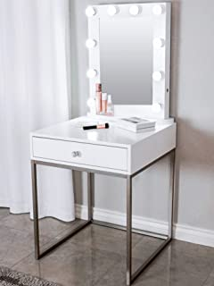 silver dressing table set