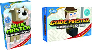 ThinkFun Code Master and Clue Master  STEM Toys for Boys and Girls Age 8 and Up Bundle