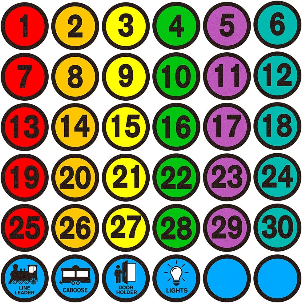 WHATSIGN Number Spot Markers and Max 49% OFF 4