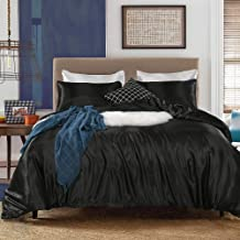 Bedding_Dreamer Silk Like Satin Duvet Cover Set King Multi