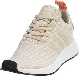 adidas Originals Women's NMD_R2 Shoes (Linen, Running White - Size 10)