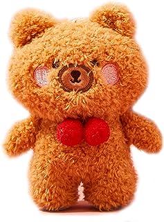 Plush Teddy Bear Stuffed Animals Keychains Key Chains Cute Charms Gifts for Boys Girls
