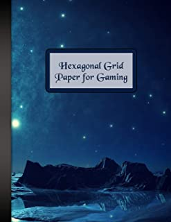Hexagonal Grid Paper for Gaming: Create Your Own Gaming Landscape!