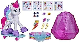 My Little Pony: A New Generation kristallen avontuur Zipp Storm, 7,5 cm grote witte pony met verrassingsaccessoires, vrien...