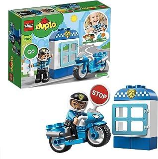 LEGO 10900 DUPLO Town Polismotorcykel, Polisleksak, Barnleksaker, Byggsats för Små Barn