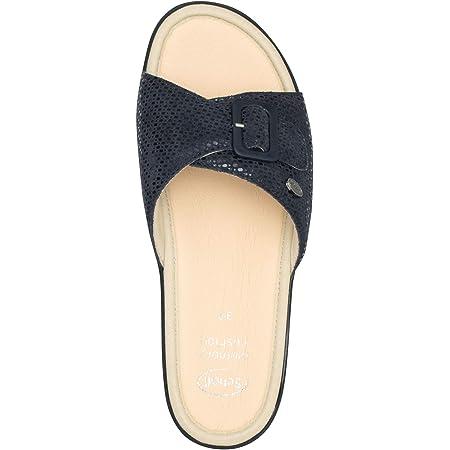 Scholl sandali da donna Mango, numero 39, blu navy, con soletta in memory foam