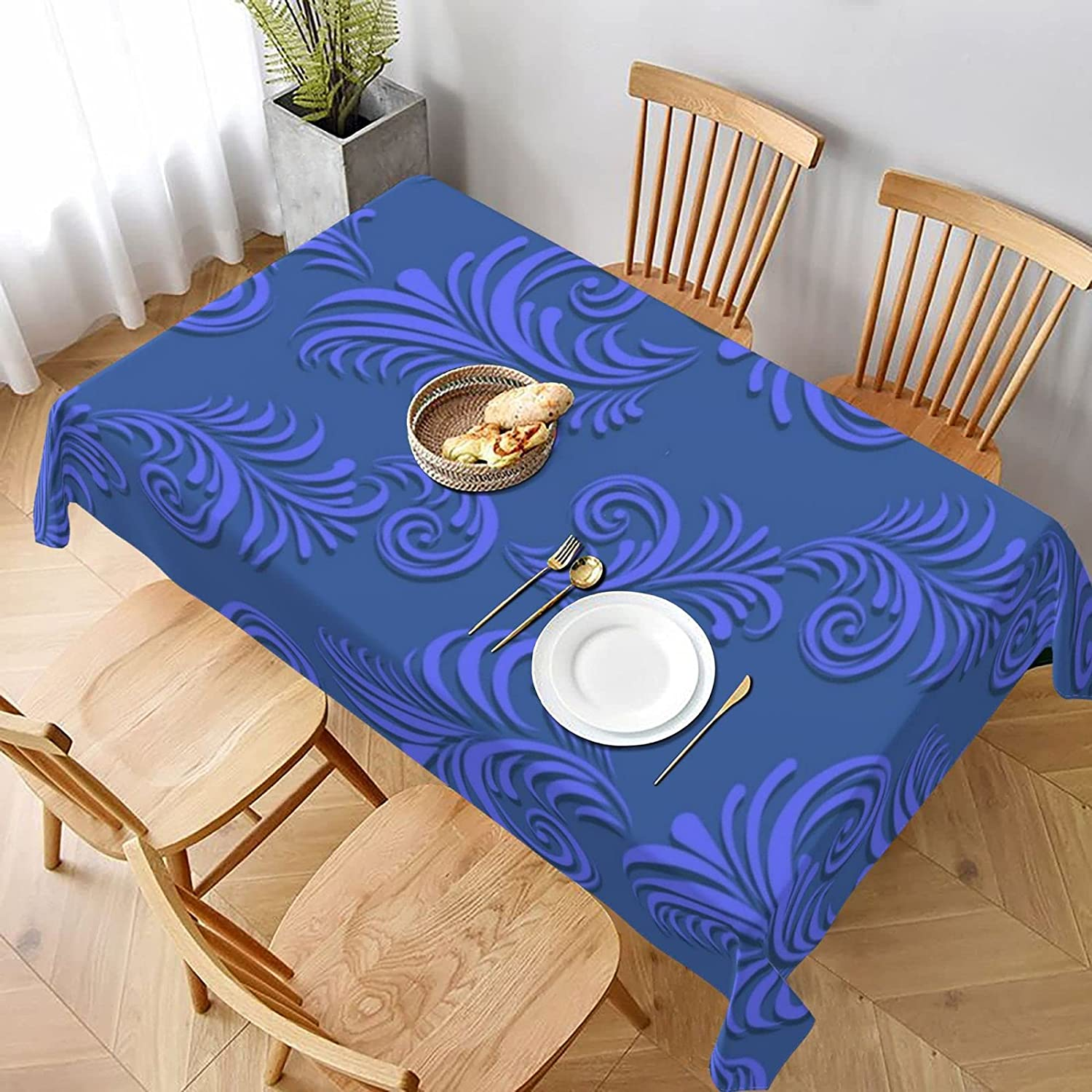 Volumetric Floral Stain Resistant Table Washable Max 46% OFF and Albuquerque Mall Spillproof