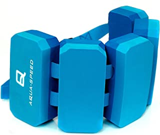 comprar comparacion Aqua Speed Kieddie Cinturón de natación para niños | 6 Piezas | tamaño Ajustable | Ayuda a la flotabilidad | Aqua Fitness ...
