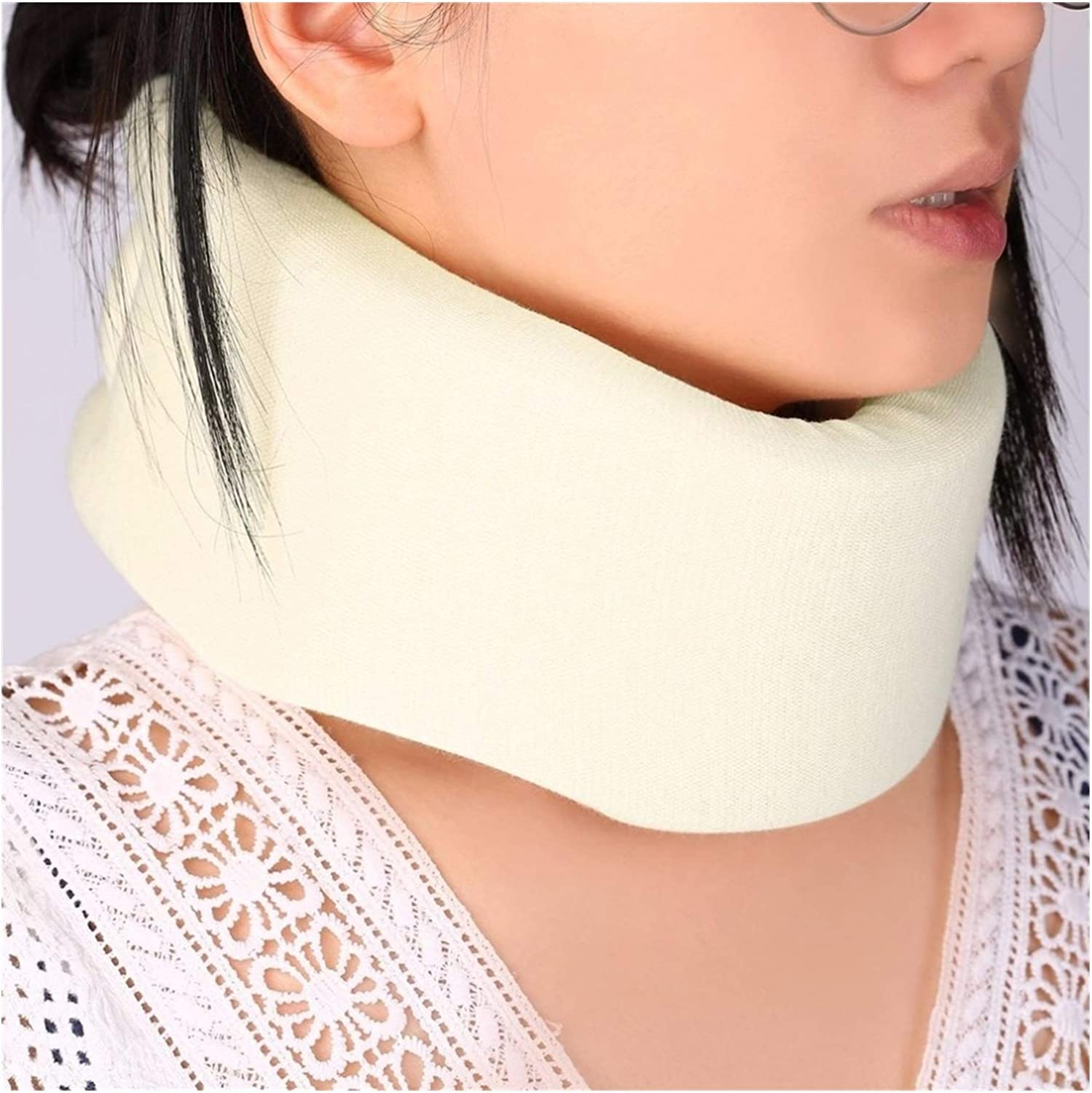 LANREN Safety Soft Firm Foam Cotton 2021 autumn and winter new OFFicial Cervical Traction Collar Nec