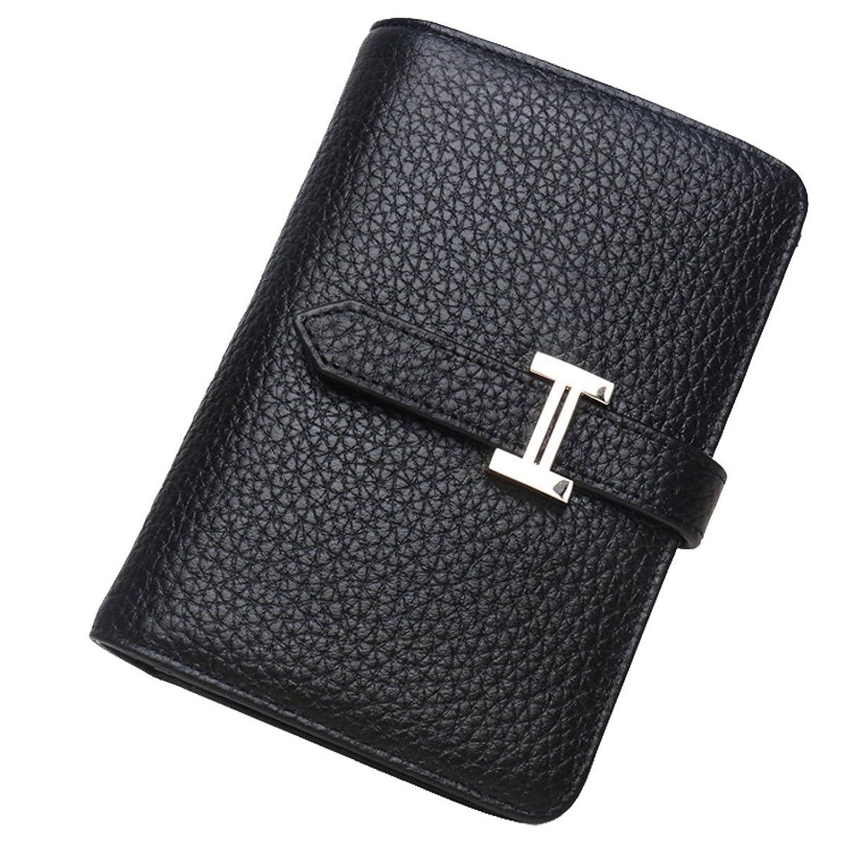 注入はっきりしない助けになる[Nana_Collection(ナナコレクション)] コンパクト 二つ折り パスケース 牛皮 財布 大容量 女性 全5色