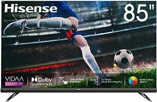Hisense 85inch 85U8WFV 4K ULED Ultra HD Smart TV VIDAA 3.0 Wide Color Gamut Dolby Vision Dolby ATMOS Front-firing speaker ...