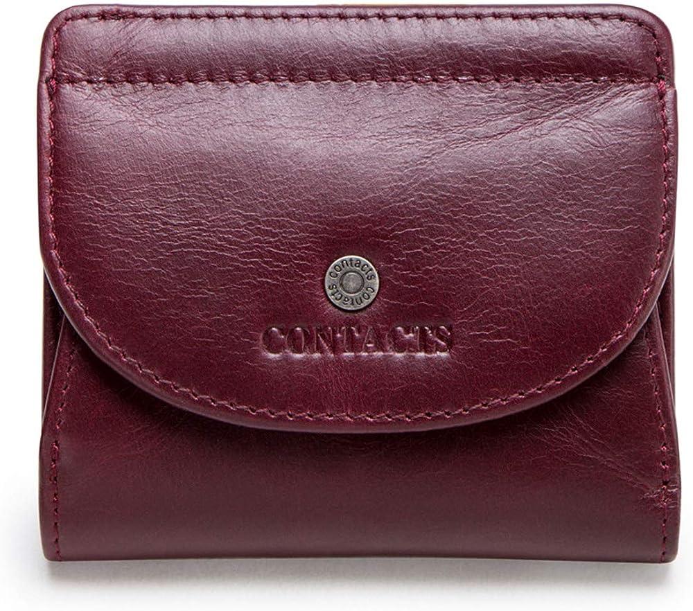 Fandare, portafoglio, portamonete, porta carte di credito, in vera pelle AK-JM002