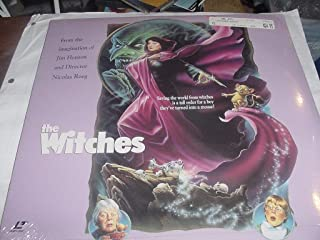 Laser Disc, Laserdisc of Jim Henson's THE WITCHES with Angelica Huston and Mai Zettering.