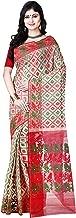 RLB Fashion Women's Cotton Silk Handloom Dhakai Jamdani Saree (Multi-Colour, Free Size)