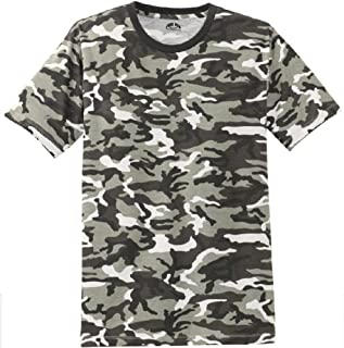 Mens Camo-Camouflage T Shirts in Mens Sizes: XS-4XL