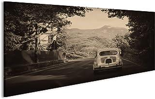 Decorazione Cartello Vintage Ferro Battuto Avvertimento Scudo Acciaio Placca per Bar Cafe Office Pub Soggiorno KODY HYDE Targa in Metallo Fiat 500
