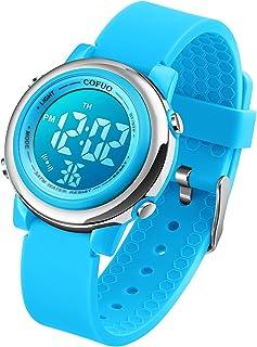 Kids Digital Sport Waterproof Watch for Girls Boys, Kid...