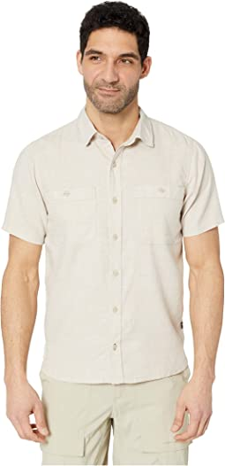 Taj Hemp Short Sleeve Shirt Slim