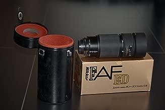 Nikon 80-200mm f/2.8 ED AF Nikkor Macro Zoom Lens