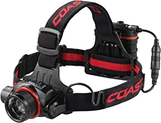 COAST HL8R 800 Lumen Rechargeable Pure Beam Focusing LED Headlamp