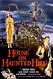 24x36 House on Haunted Hill- Vincent Price Poster by Innerwallz
