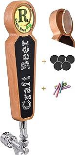 Large Wooden Chalkboard Tap Handles For Kegerator Bar Restaurant Brewery Craft Beer Tap Handle Label Display for All Beer-Lovers Light