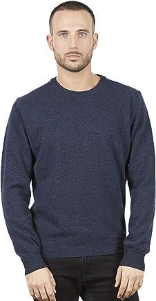 BRUNELLA GORI Pullover Jumper Sweater Man Superfine Australian Lambswool Color Bordeaux