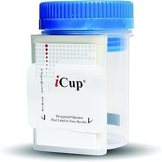 iCup iCup 3 Panel | CLIA Waived | Urine Drug Test Kit | Anti Cheat 2 | I-DOA-3137 | Box of 25