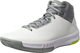sports shoes c0bd3 49803 Under Armour Ua Lockdown 2, Chaussures de Basketball Homme, Blanc (White  100)