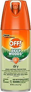 OFF! Deep Woods Dry Aerosol, 2.5 oz.