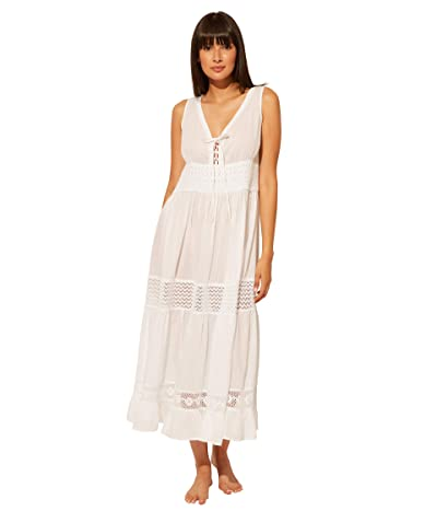 Bleu Rod Beattie India Bazaar Long Dress Cover-Up (White) Women