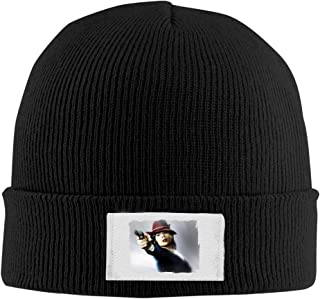 Creamfly Adult Agent Carter Poster Wool Watch Cap Black
