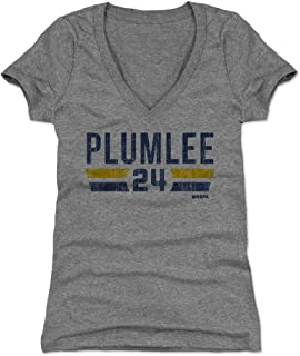 Mason Plumlee Women's Shirt - Denver Basketball Shirt for Women - Mason Plumlee Denver Font