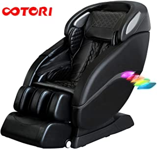 OOTORI SL-Track Massage Chair Recliner, Double SL-Track Zero Gravity Full Body,Yoga Stretching Massage Chair Foot Sole Rollers and Heater