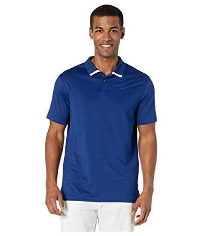 Nike Golf Dry Vapor Polo Solid (Blue Void/White/Blue Void) Men