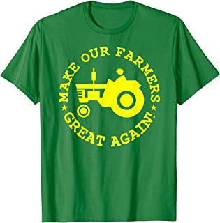 Make Our Farmers Great Again Shirt-Trump Rally Sign Shirts