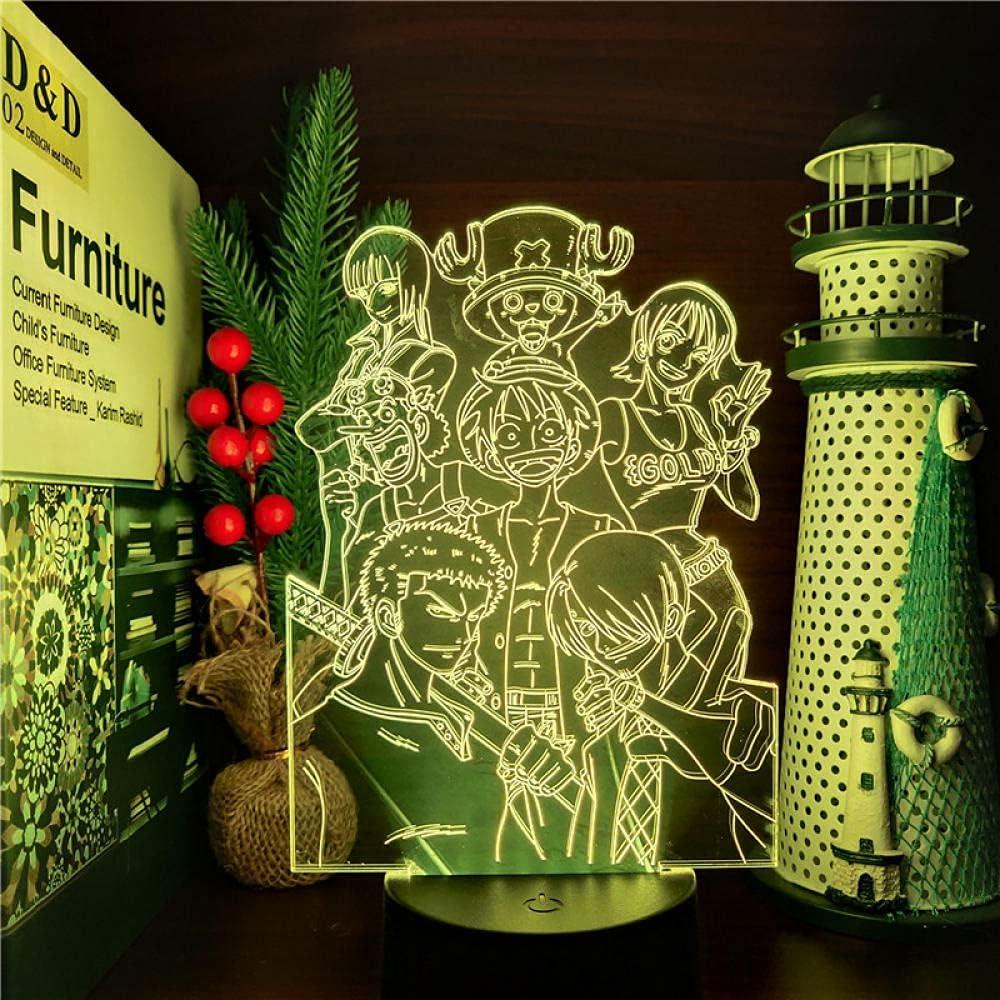 3D Led Anime LAMP Nightlights Christmas Tucson Mall Gift Kid for Lampara Over item handling ☆
