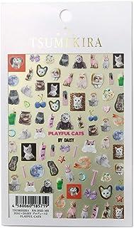TSUMEKIRA DOG×DAISY Produce 2 PLAYFUL CATS nail stickers gel art nail art design japan Product