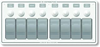 Contura Water Resistant 12V DC Circuit Breaker Panel - White 8 Position