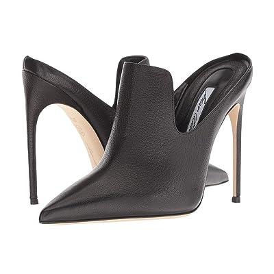 Brian Atwood Liason (Black Tumbled Calf) High Heels
