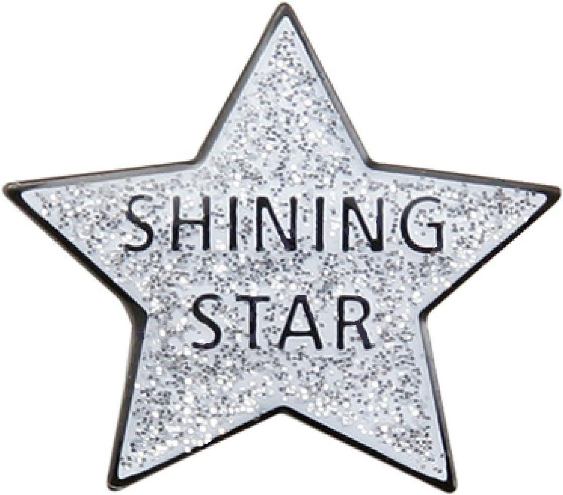 Pack of 25 Shining Max 43% OFF Pins Denver Mall Star Lapel
