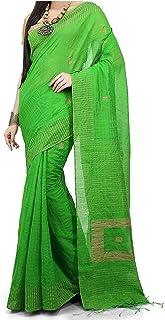 Tjsarees Cotton Silk Saree (Tj500051_Green_Free Size)