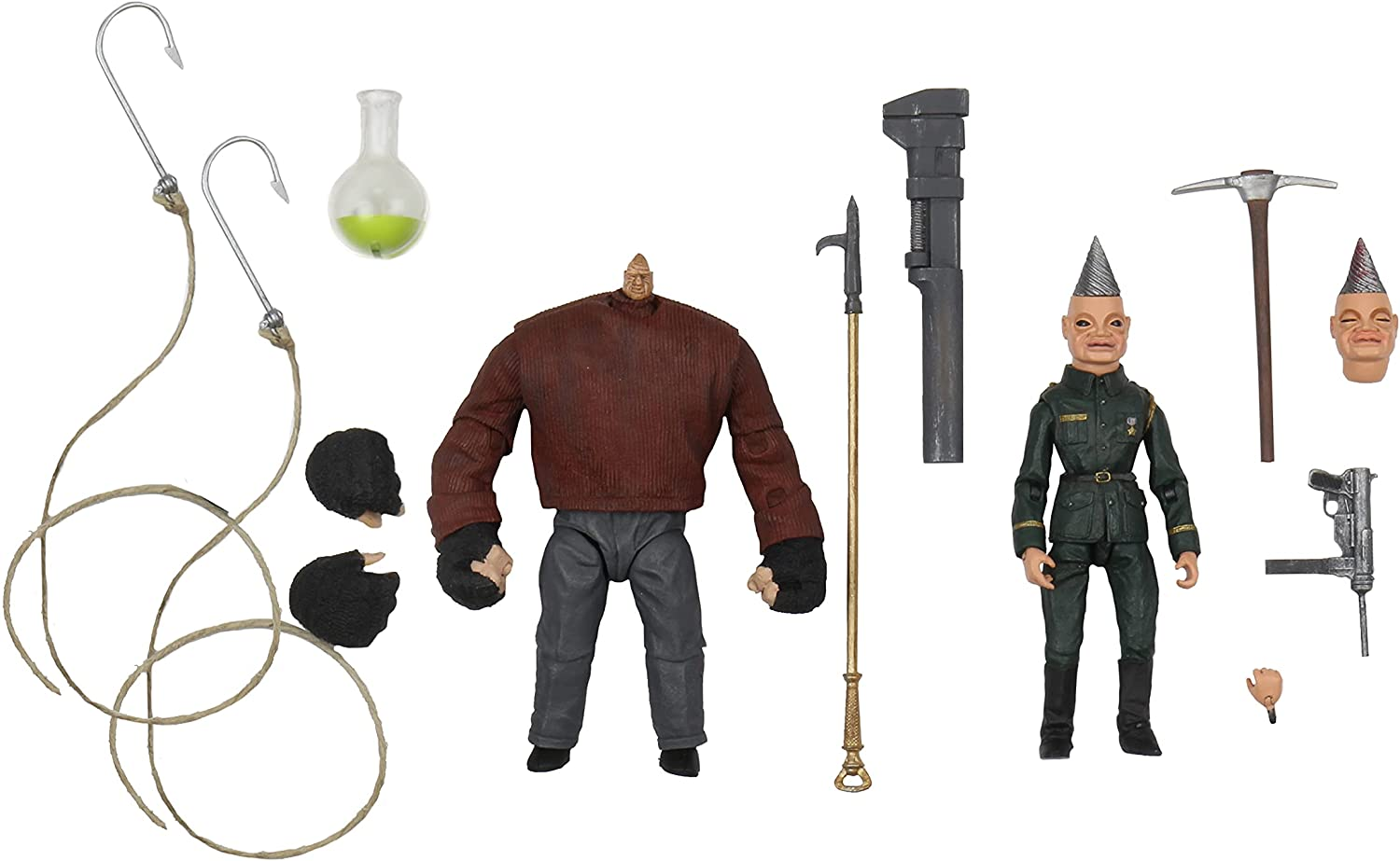 """Puppet Master - Ultimate Pinhead & Tunneler 7"""" Scale Action Figure - 2 Pack..."""