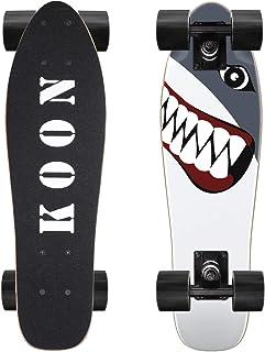 Ko-On Skateboards 22 Inch Complete Mini Cruiser Skateboard for Beginner Boys and Girls