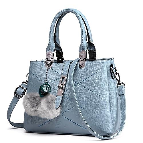 748803d396ae Grey/blue Handbag: Amazon.co.uk