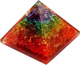 Energy Generator Orgone Pyramid for Emf Protection & Healing- meditation orgonite pyramids/crystal chakra
