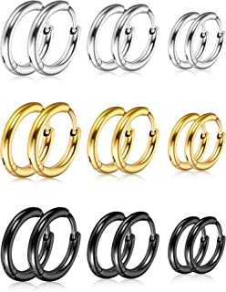 amilses Femmes 12 paires de boucles doreille Set Fashion Cute Cartoon Animal Oreille Accessoires Boucles doreilles