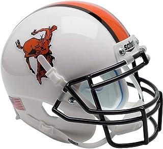 Oklahoma State Cowboys Schutt White Pistol Pete Mini Football Helmet - College Mini Helmets