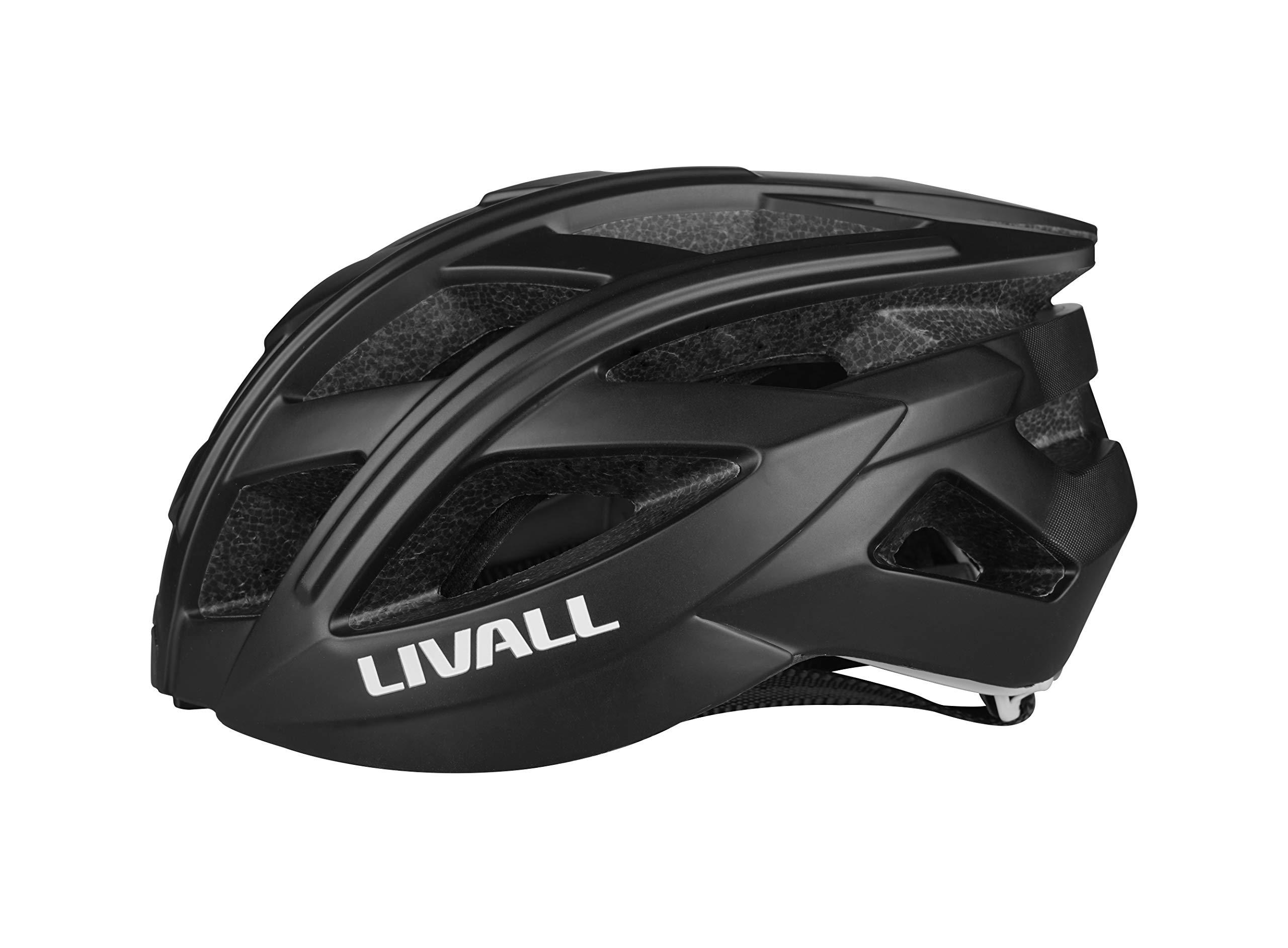 Polar Black NEW Livall Road Bike Smart Bluetooth Cycling Light Helmet BH60SE