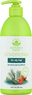 Nature's Gate Tea Tree Calming Conditioner for Irritated, Flaky Scalp, 18 Ounce (Pack of 3)